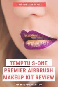 temptu S-one premier airbrush makeup kit review